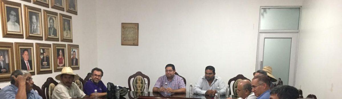 """""""Willa"""" vino a organizarnos como sectores productivos, alcalde Escuinapa."""