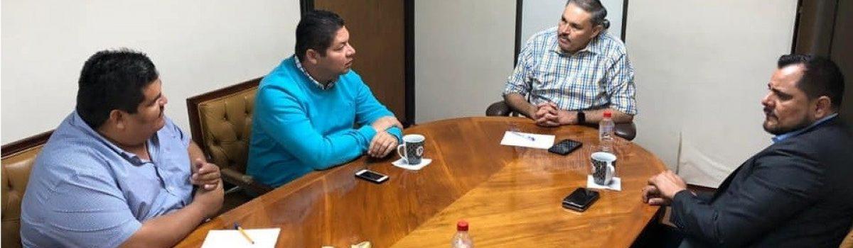 Comprometido con las y los escuinapenses, Emmett Soto Grave, Presidente Municipal de Escuinapa, gestiona necesidades básicas para el municipio ante el gobierno estatal que encabeza Quirino Ordaz Coppel.