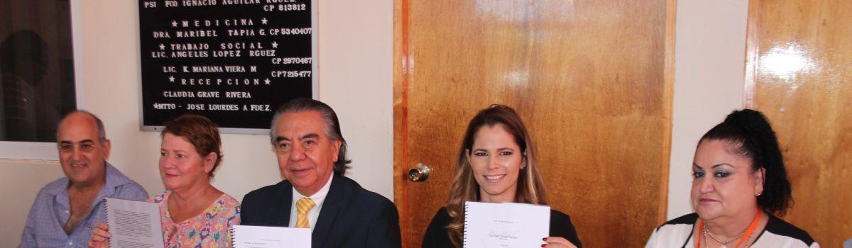 CIJ presenta informe anual ante presencia de autoridades municipales.