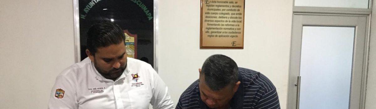 Firman convenio de colaboración Ayuntamiento y Patronato Impulsor del Deporte Sinaloense.