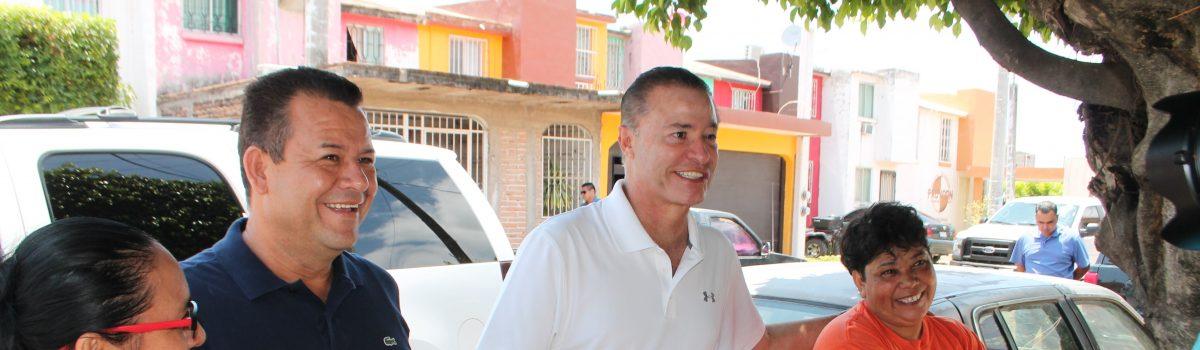 Habrá más obras para Escuinapa: Quirino Ordaz