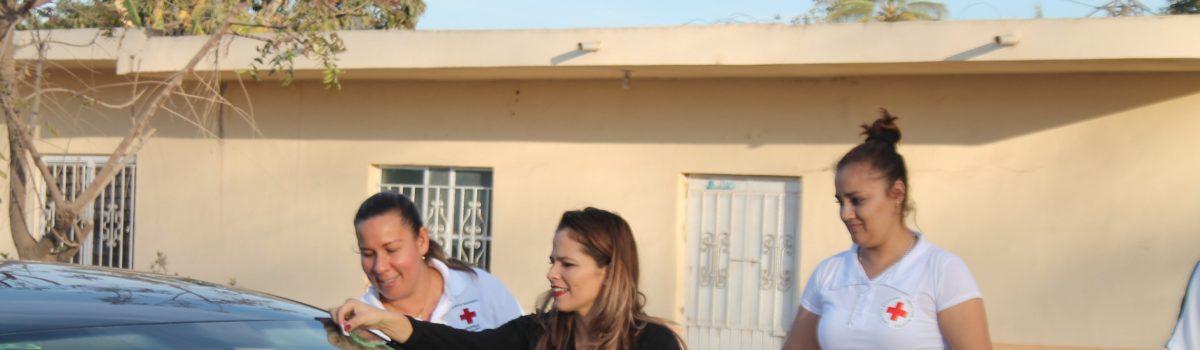 Realizan boteo en Isla del Bosque para Cruz Roja.