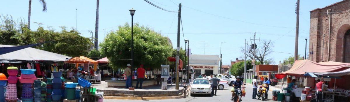 Implementa Gobierno Municipal cerrar calles del primer cuadro de la ciudad para la Convivencia Sana.