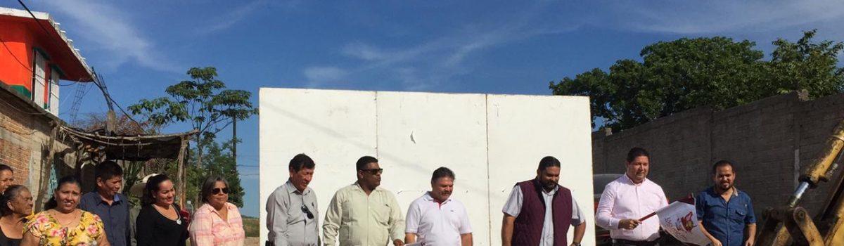 Cumple Alcalde compromiso de agua potable para escuinapenses. *inaugura primera obra de rehabilitación de agua potable en la colonia Pueblo Nuevo.
