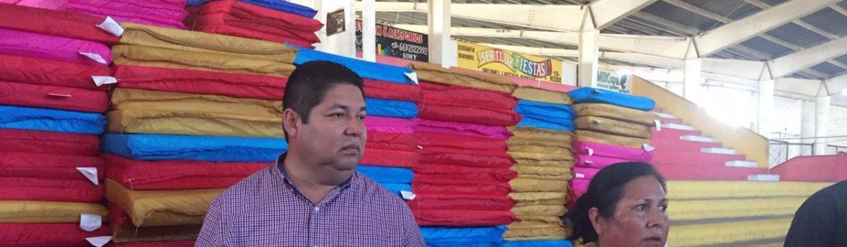 Supervisa alcalde que apoyos lleguen a ciudadanos necesitados