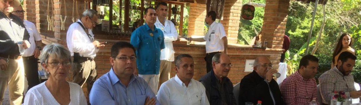 Acude Soto Grave a reunión para analizar un Corredor Turístico desde Escuinapa a Mazatlán.