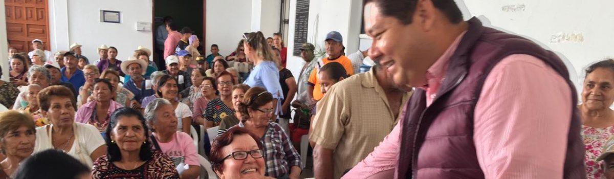 Gobierno comprometido con adultos mayores: Soto Grave.