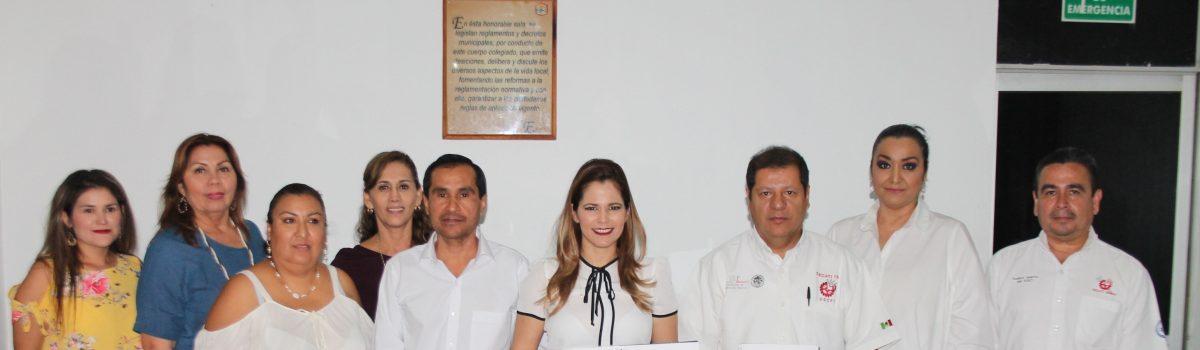 Ayuntamiento y CECATI 150 firman convenio de colaboración.