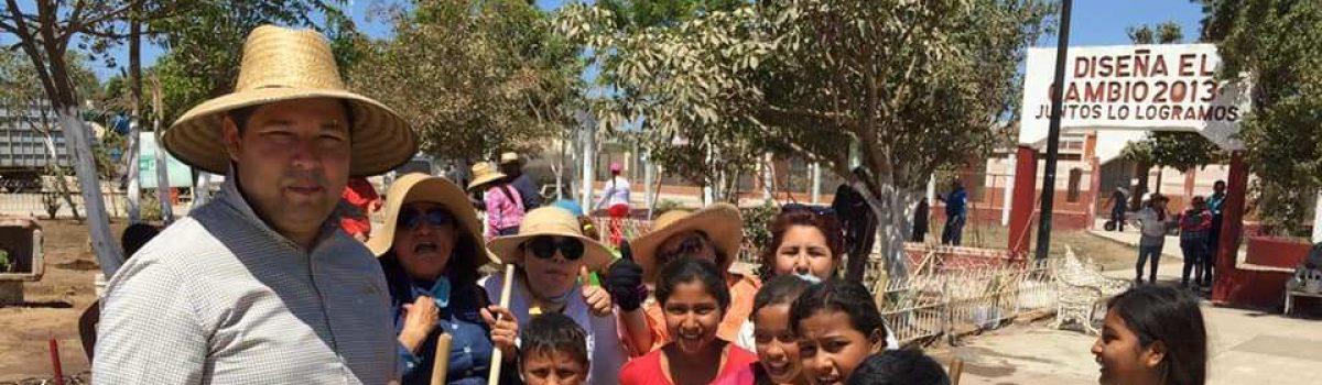 Encabeza Alcalde segunda Jornada de Limpieza en la sindicatura de Isla del Bosque.
