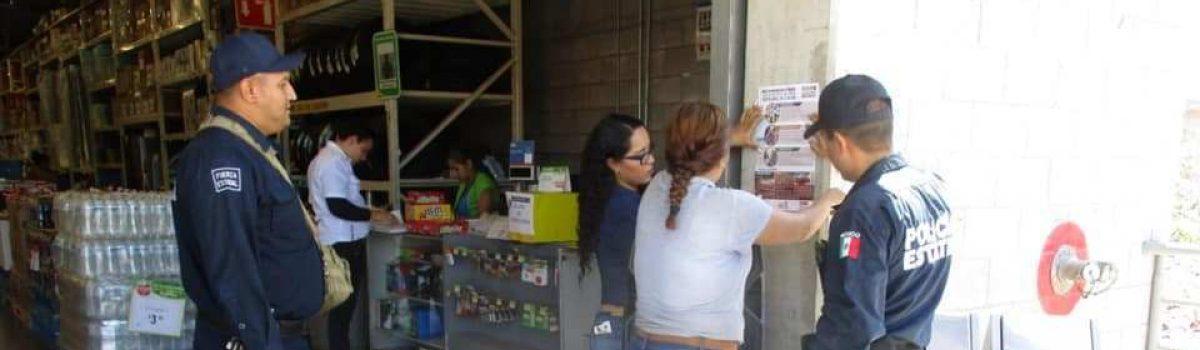 Programas Preventivos realiza prevención en escuelas y comercios de la Ciudad.