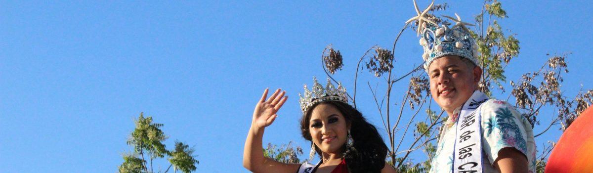 Se presenta primera caravana de candidatos de Las Tradicionales Fiestas del Mar de las Cabras 2019.
