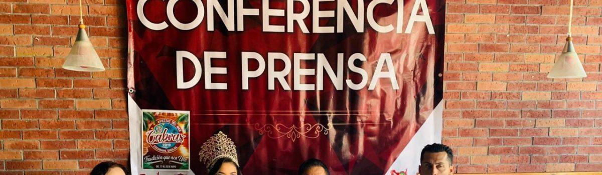 """Gobierno municipal presenta convocatoria a candidatas a reina y rey de la Fiestas del Mar de las Cabras 2019 """"Tradición que nos Une""""."""