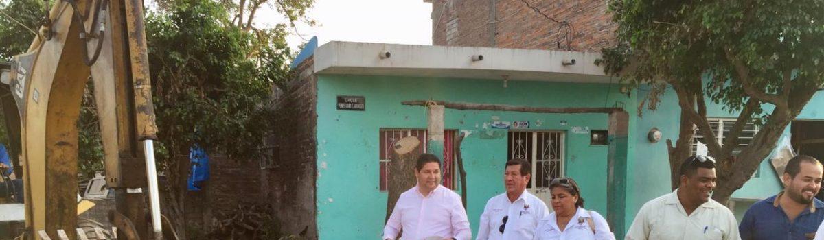 Se inicia rehabilitación de tomas de agua en colonia Gabriel Leyva.