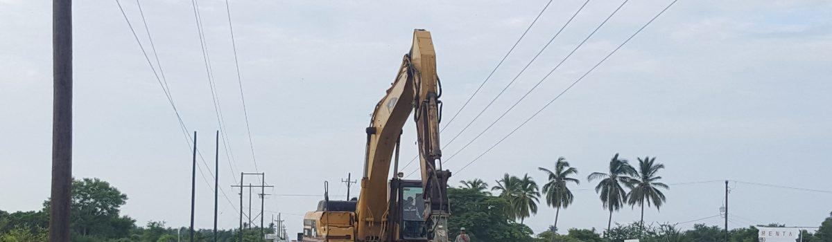 Inicia demolición del puente de La Estacada
