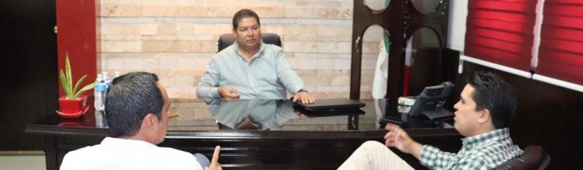 Vendrán obras sociales a beneficiar a escuinapenses; Ricardo Madrid Pérez, secretario de Desarrollo Social en Sinaloa.