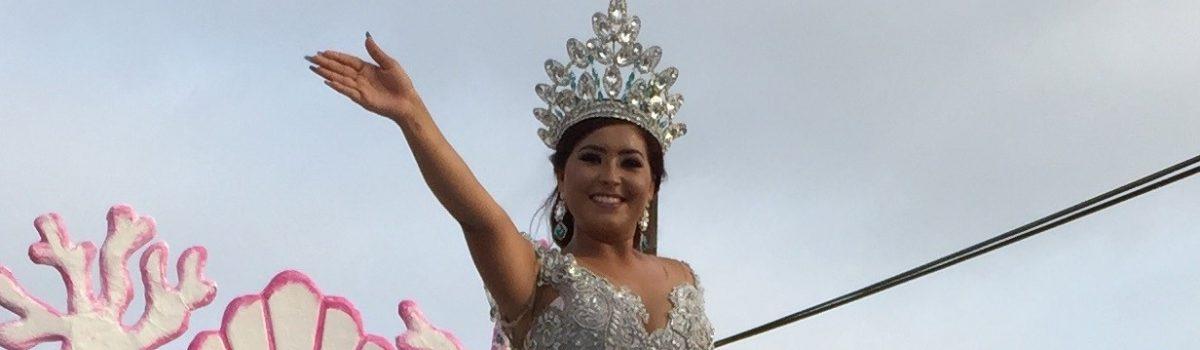 Desfilan soberanos de las Tradicionales Fiestas del Marino 2019.