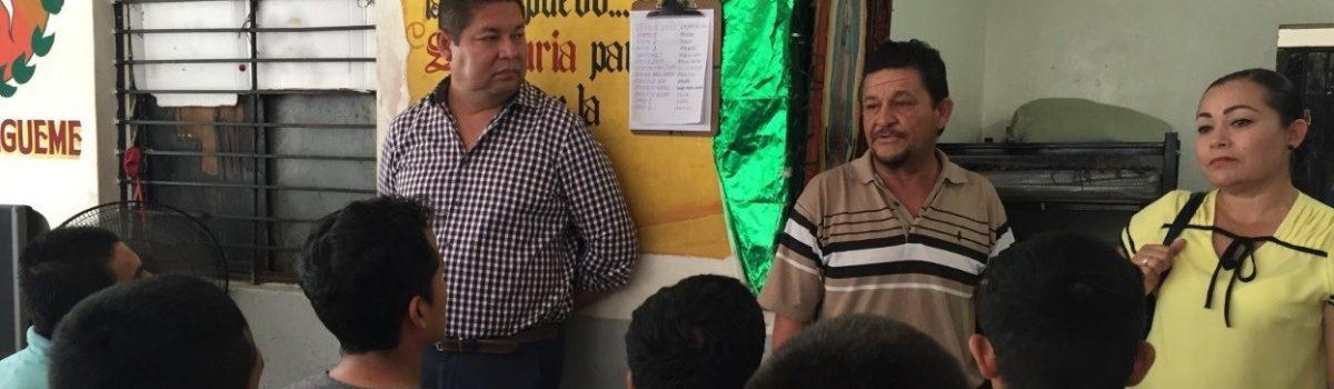 Se compromete Alcalde con apoyar a Centros de Rehabilitación en el Municipio.