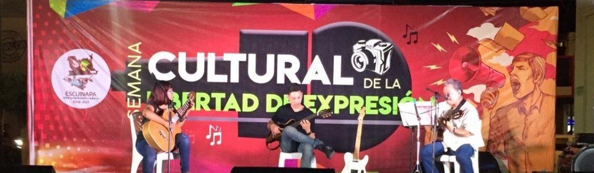 Inaugura Alcalde Semana Cultural de la Libertad de Expresión; se llevará del 05 al 08 de junio.