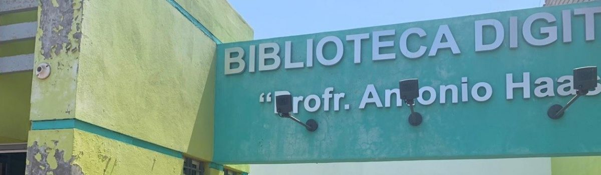 Gobierno municipal rehabilitará Biblioteca Digital de la sindicatura de Teacapán.