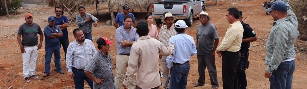 Convoca presidente municipal a pescadores del sur de Sinaloa para buscar solución de problema de desembocadura del Rio de las Cañas a marismas nacionales.