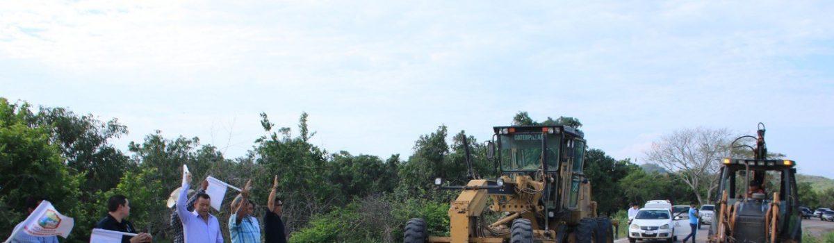 """Inicia la rehabilitación del acceso a la presa """"El Peñón"""""""