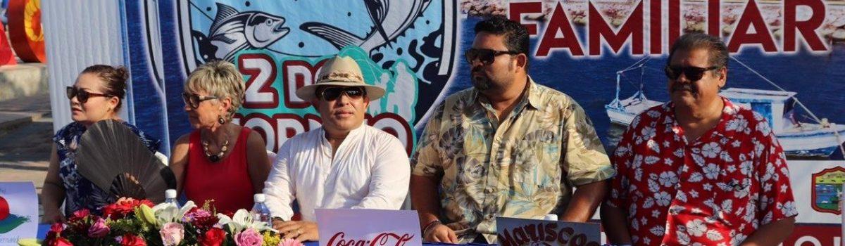 Gana equipo Pesados en Segundo Torneo de Pesca Familiar organizado por el Gobierno Municipal de Escuinapa.