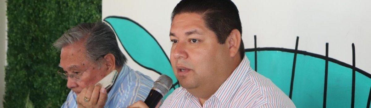 Anuncia alcalde que este año se invertirán 150 millones de pesos en obras para Escuinapa.