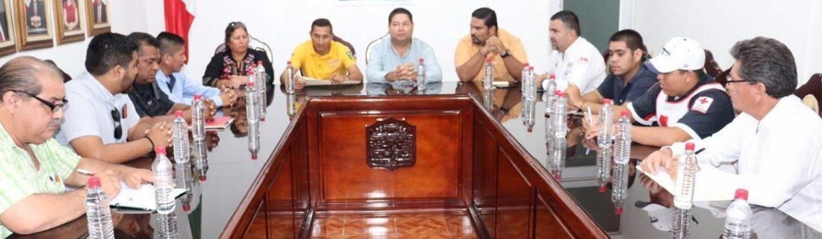 Escuinapa se declara en Sesión Permanente del Consejo Municipal de Protección Civil.