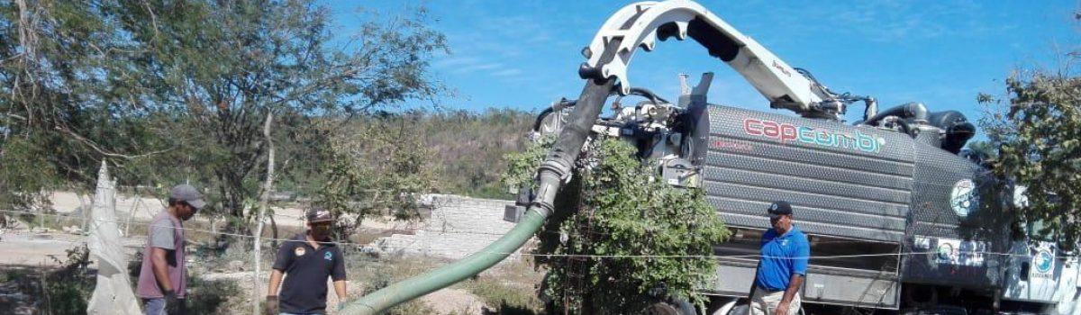 Continúan saneamientos de fosas sépticas en comunidades: Ecología Municipal