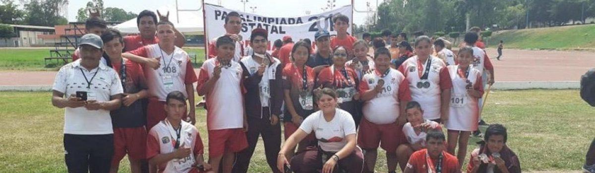 Gana Escuinapa 45 medallas en Paralimpiadas Estatales.