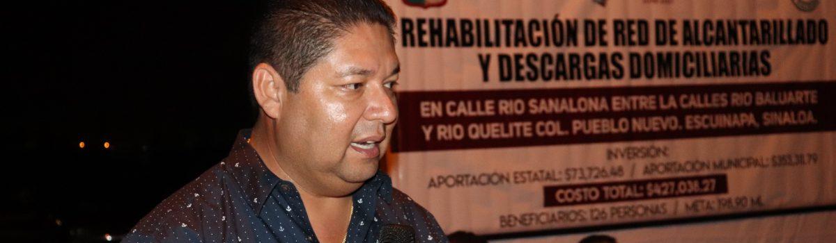 Alcalde anuncia 15 proyectos productivos más para Escuinapa; serán 50 en total en el año.