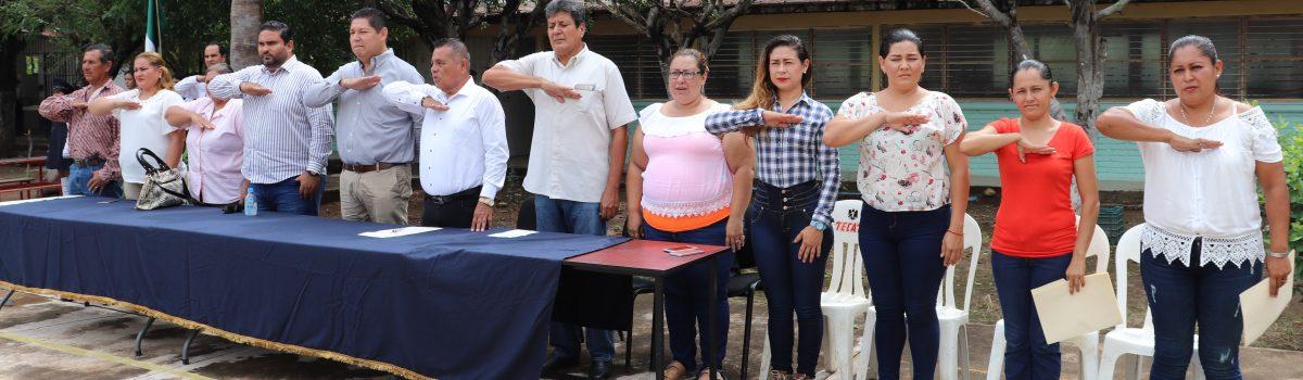 """Realiza gobierno municipal Lunes Cívico en Cbtis 152 en la cabecera, y Esc. Sec. """"Severiano Moreno"""" en la sindicatura de La Concha."""