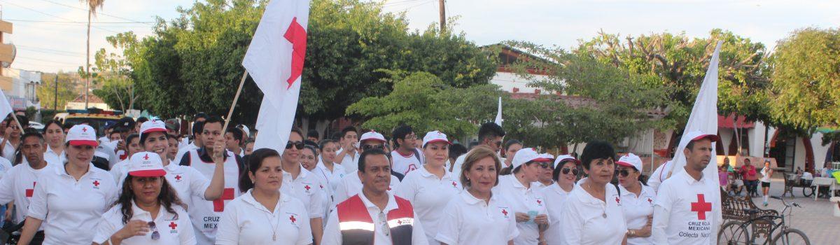 Inicia en Escuinapa colecta nacional de la Cruz Roja.
