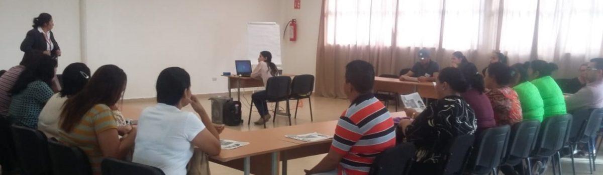 Gobierno municipal y Coepriss realizan capacitación de mantenimiento de higiene a tortilleros del municipio.