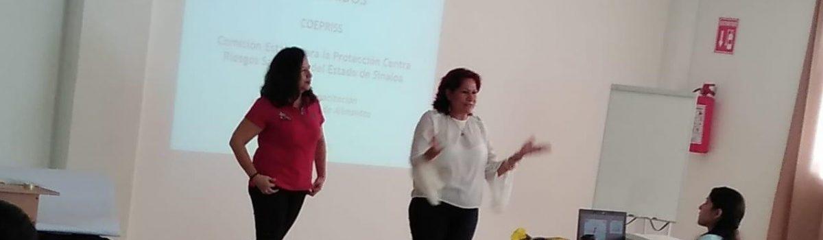 Gobierno Municipal y COEPRISS implementan capacitación a taqueros y gastronómicos de la cabecera municipal.
