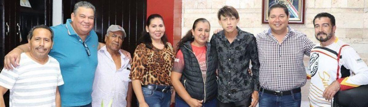 Apoya Dr. Soto a atleta con capacidades especiales para concentración en México.