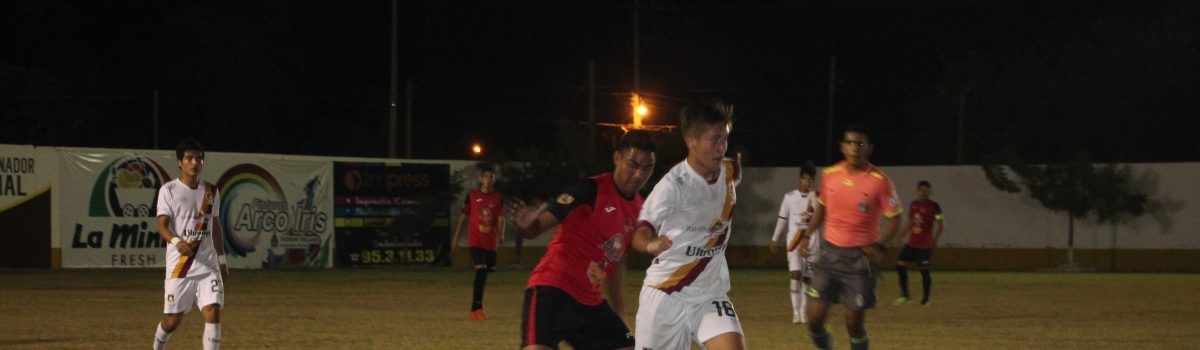 Camaroneros vence a Coras FC por 2 goles a 0.