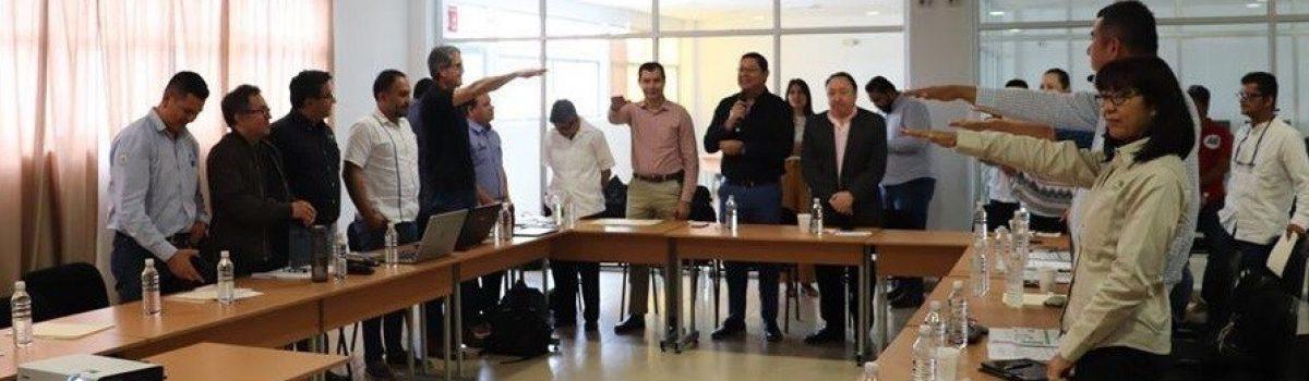 Toma protesta nuevo Órgano Técnico de POEL en Escuinapa.