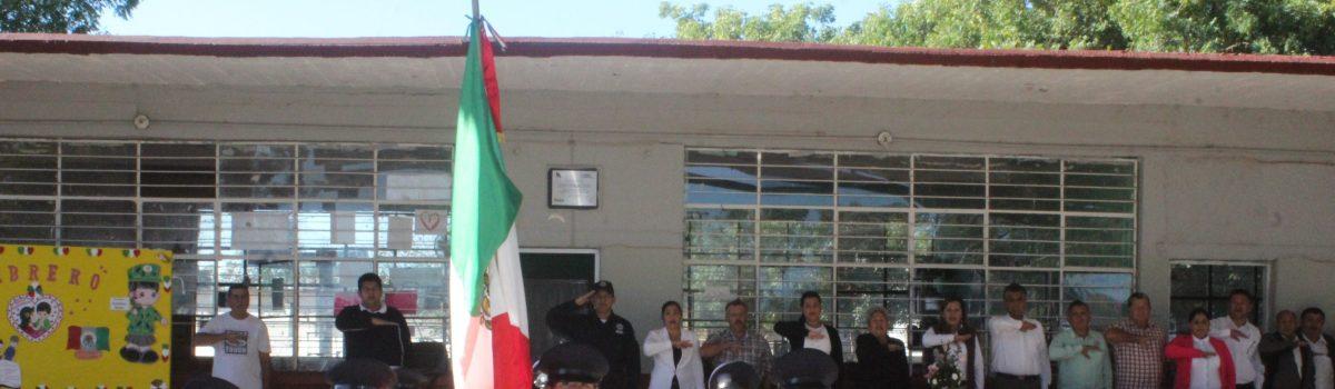 Autoridades Municipal celebran Lunes cívico en planteles educativos de La Concha.