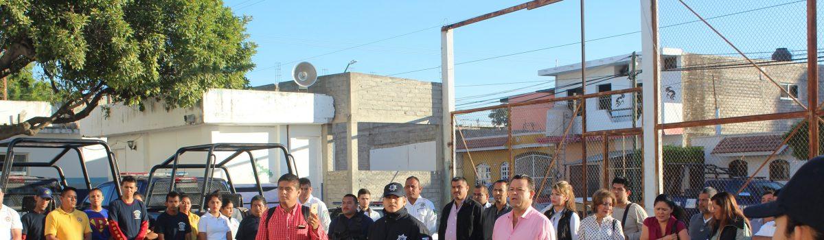 Ofrece Alcalde respaldo a la Dirección de Seguridad Pública