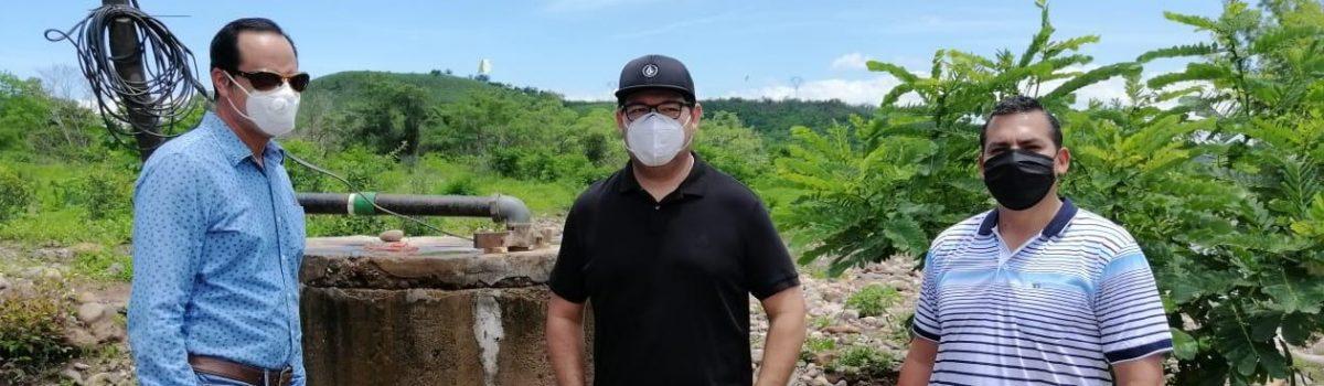 El Trébol II contará con agua potable; alcalde municipal de Escuinapa.