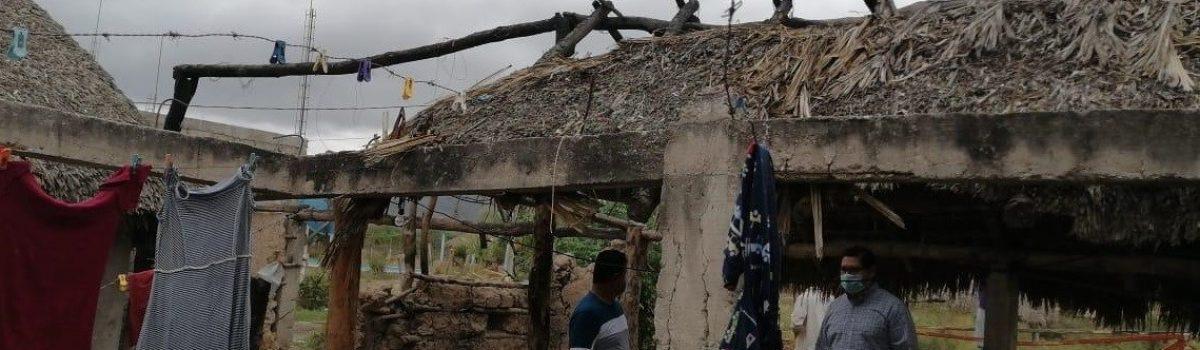 Soto Grave anuncia 60 viviendas para las comunidades de Palmito del Verde y Cristo Rey.