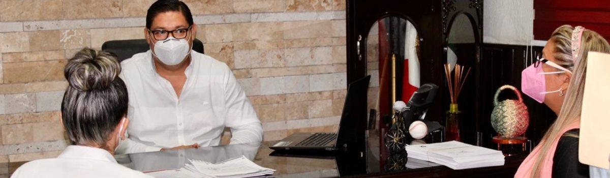 Gobierno municipal en pro de la salud de los escuinapenses: Soto Grave.
