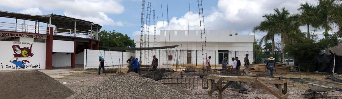 Inician trabajos de construcción de Banco de Bienestar.