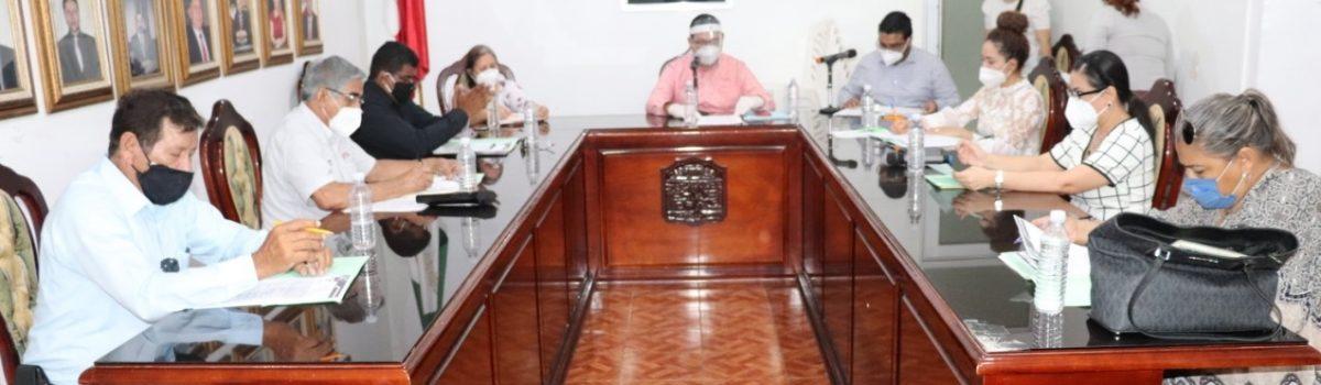 Se llevan a cabo sesión ordinaria de Cabildo 37 y 38.