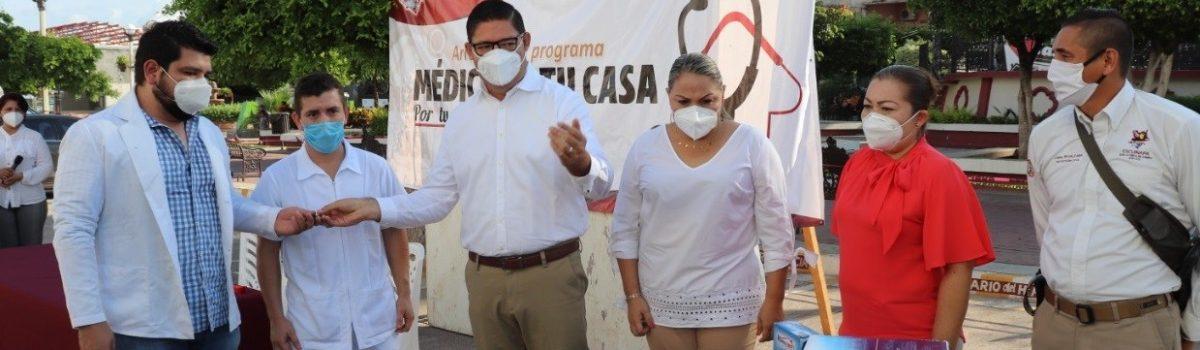 """Gobierno municipal de Escuinapa arranca con el programa """"Médico en tu Casa""""."""