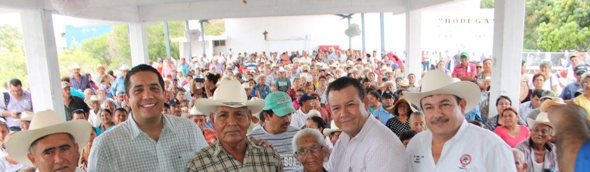 646 productores recibieron apoyos del Seguro Agrícola Catastrófico