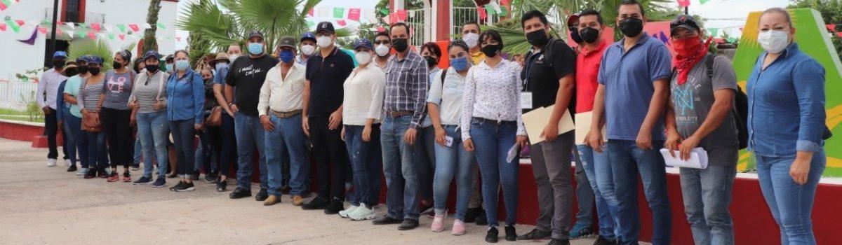 Se lleva a cabo cuarta jornada de Servicios Públicos Municipales en La Concha.