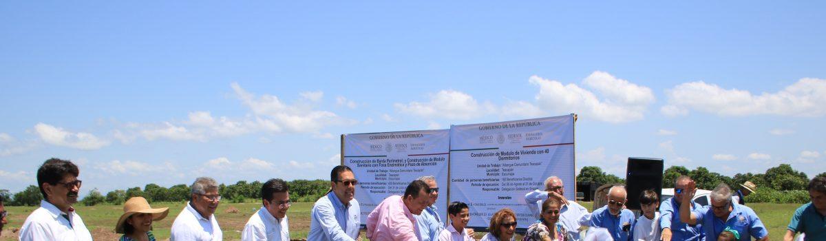 Inicia construcción de guardería para jornaleros en Teacapán