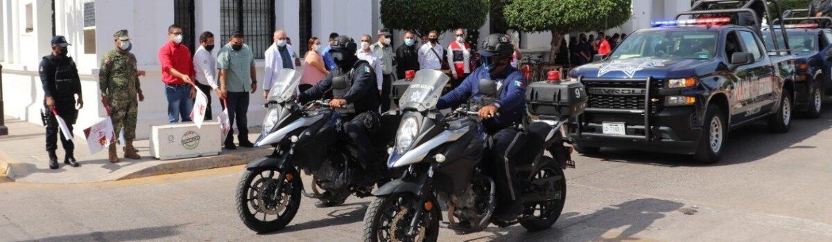 """Gobierno municipal de Escuinapa arranca Operativo de Seguridad """"Guadalupe-Reyes"""" 2020-2021."""
